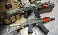 """Rifle Dynamics / AKS 74U, 5.45X39 RD """"Krink""""."""