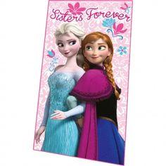 Robe da Cartoon-Frozen-Plaid pile Disney Frozen Sisters Forever-20