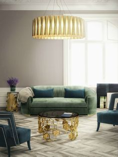 10 Marvelous Modern Sofas That You Will Want To Have This Summer | Want to update your home decor for Summer or just give a fresh look to your living room set? Let yourself be inspired by these 10 marvelous modern sofas! Find more here: https://www.brabbu.com/en/inspiration-and-ideas/interior-design/marvelous-modern-sofas-want-summer