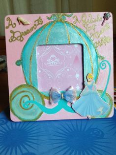Picture Frame Cinderella inspired hand by onlyadreamBoutique