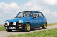 Renault 5 Alpine Turbo Blu