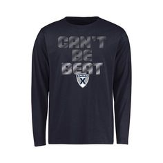 Xavier Musketeers Youth Can't Be Beat Long Sleeve T-Shirt - Navy - $19.99