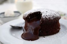 """""""Molten Cake is one of the MUST HAVE recipes. It's simple, delicious and has an appealing presentation."""""""