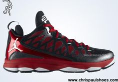 check out 772b3 8bf53 Latest Listing Cheap Jordan CP3.VI Black White Gym Red 535807 003 CP3 Shoes  2013
