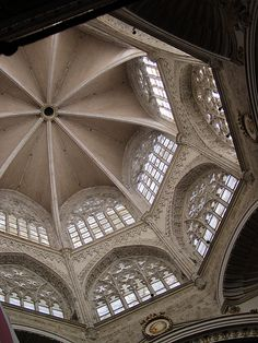 Cathedral of Valencia - Alabaster - Windows.  Spain.