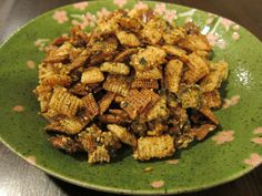 East meets West Chex Mix with Furikake Snack Mix Recipes, Cooking Recipes, Snack Mixes, Asian Snack Mix Recipe, Yummy Snacks, Dessert Recipes, Yummy Food, Furikake Chex Mix, Recipes