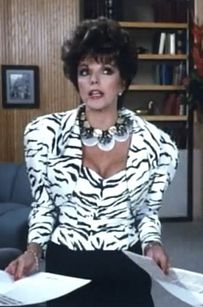 """Remember: The bigger the shoulder pad, the closer to God. 
