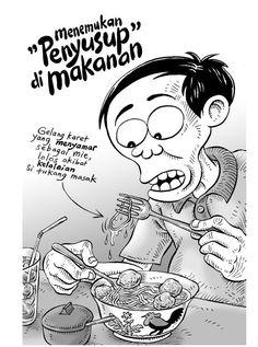 Kartun Benny, 100 Persitiwa: Menemukan Penyusup Di Makanan