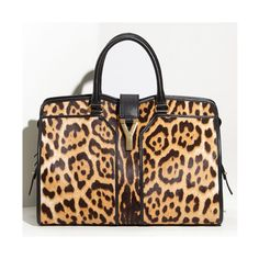 PurseBlog Poll Are you done with leopard print? ❤ liked on Polyvore featuring bags
