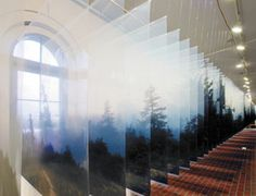 Layered landscape by Nabuhiro Nakanishi.