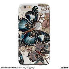 Beautiful Butterflies Tough iPhone 6 Plus Case