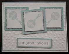 356 - PENNY TOKENS STAMPIN SPOT: It's A Boyhttp://www.pennytokensstampinspot.blogspot.ca/2014/08/its-boy.html, combined challenge for Fab Friday and Stylin' Stampin' INKspirations