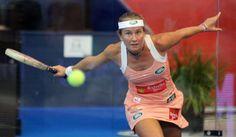Carolina Navarro (Málaga) destacada jugadora profesional de pádel, ha  ganado en…