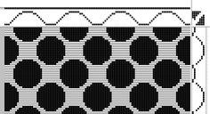 diversified plain weave | 8-shaft, 7-treadle
