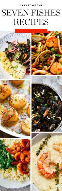 7 Feast of the Seven Fishes Recipes You'll Want to Make All Year Long via @PureWow