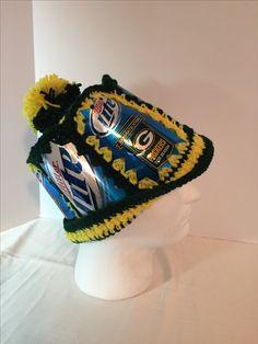 5c35300d27eea Miller lite beer can hat. Packer 2010 season special edition Miller Lite