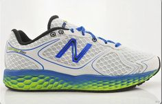 041be84b9720 Discount New Balance Limited Fresh Foam Cobalt Blue White Green Gecko  Running Mens Sneakers For Males Boys