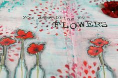 My Noteworthy Cards: Poppies Everywhere