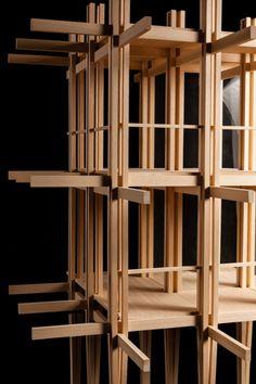 Modello Atelier Aires Mateus - Accademia di architettura di Mendrisio 2013