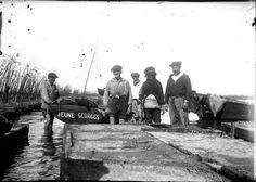 Travaux de la mer, bassin d'ostréiculture Fonds Trutat, ca 1900