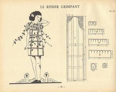"""LE ROSIER GRIMPANT"" costumons nous p68 by pilllpat (agence eureka), via Flickr"