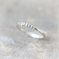 Vampire ring in sterling silver