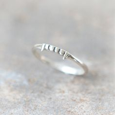 Vampire ring in sterling silver by laonato on Etsy