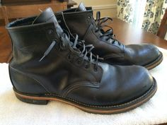 "Red Wing Heritage Beckman Boots Men's 6"" Black Size 11.5 #RedWing #AnkleBoots"