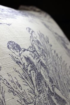 The Drill Hall Emporium, French toile cushions