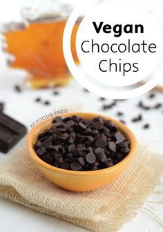 Learn how to make your own DIY vegan chocolate chips for everything from homemade chocolate chip cookies to birthday cakes!