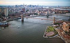 Brooklyn Bridge Park by Michael Van Valkenburgh Associates