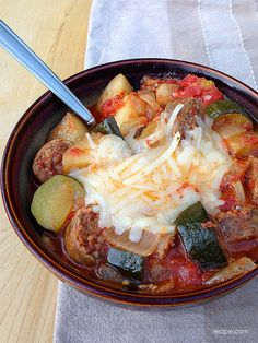 A Hearty Dinner: Slow-Cooker Sausage and Potatoes