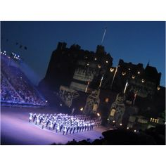 The Royal Edinburgh Military Tattoo at Edinburgh Castle runs every year during the festival in August. Full details: http://www.welcometoscotland.com/things-to-do/events/edinburgh/edinburgh-military-tattoo