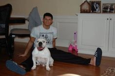 Cody Rhodes and dog