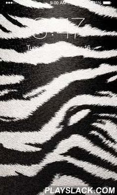 Zebra  Android App - playslack.com , Zebra - outstanding live wallpapers with different zebra prints. The app has uncomplicated and easy-to-use settings, is supported by most of devices and is power saving.