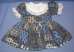 Puppenkleid-gemustert-25-5-cm-doll-dress-multicol-pattern-25-5-cm