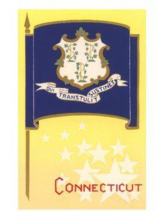 Flaggen / Flags - Connecticut - Vereinigte Staaten von Amerika / United States of America / USA