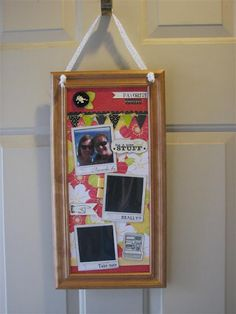 DCWV Snapshot Stack Memo Board