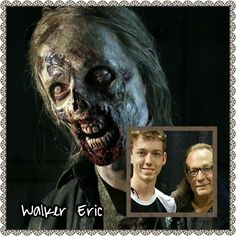 Eric |The Walking Dead Zombies Before and After Makeup
