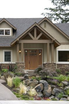 updating a ranch house exterior - Google Search