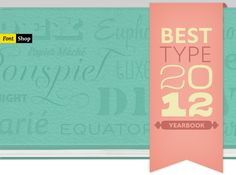 This year's Best-of reads like a high-school yearbook of high achievers. #fontshop