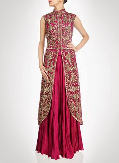 Glorious Layered Floor Length Anarkali Suit