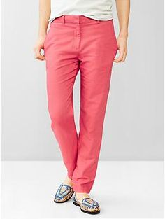 This style of pant is great for me. I like the straight fit that I can wear down or rolled.