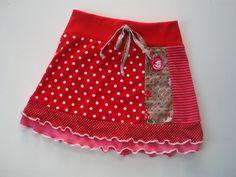 Rood met witte stippen, natuurlijk!
