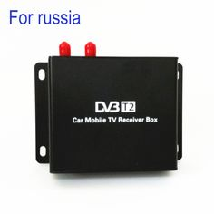 89.99$  Buy now - http://aligyk.worldwells.pw/go.php?t=32724586614 - 160-190km/h DVB T2 Car TV Tuner MPEG4 SD/HD 1080P DVB-T2 Digital TV Receiver for Russia