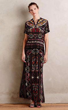 Aasha Maxi Dress #anthrofave