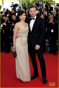 Ewan McGregor at 'on the road' premiere Cannes
