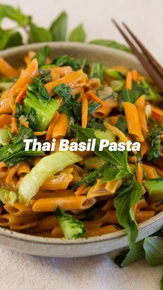 Yummy Pasta Recipes, Easy Homemade Recipes, Chicken Pasta Recipes, Thai Recipes, Asian Recipes, Dinner Recipes, Cooking Recipes, Healthy Recipes, Dessert Recipes