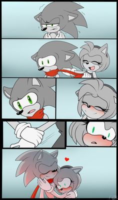 Comics Sonic X Amy by N-SteiSha25 on DeviantArt
