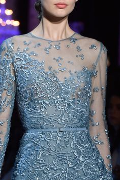 132 details photos of Elie Saab at Couture Fall 2014.